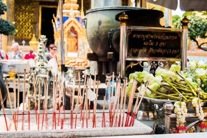 Offrande Grand Palais Bangkok