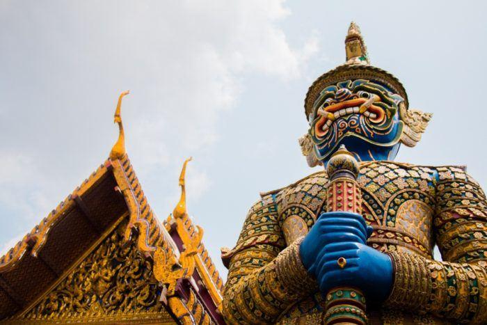 Gardien Palais Royal de Bangkok