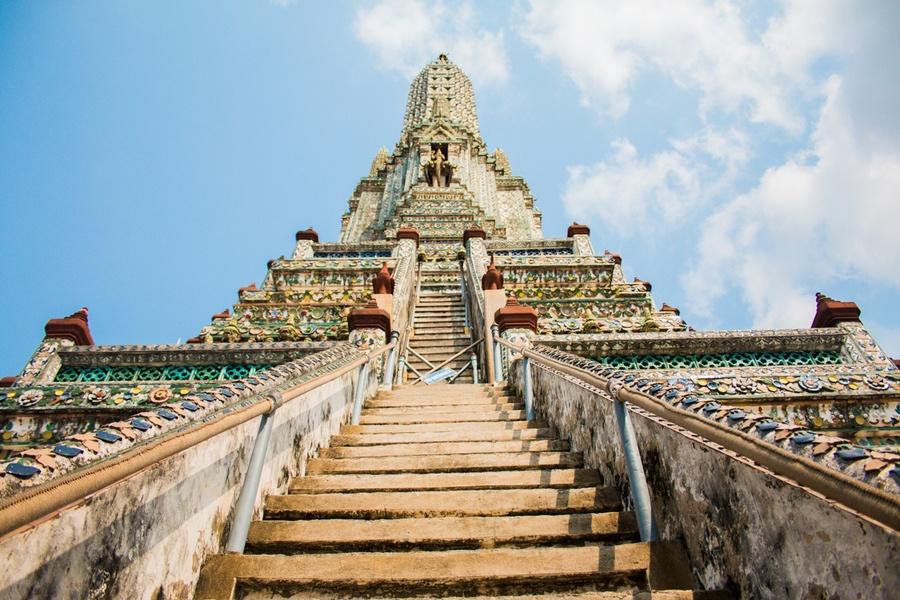 le jour de Bouddha au Wat Pho