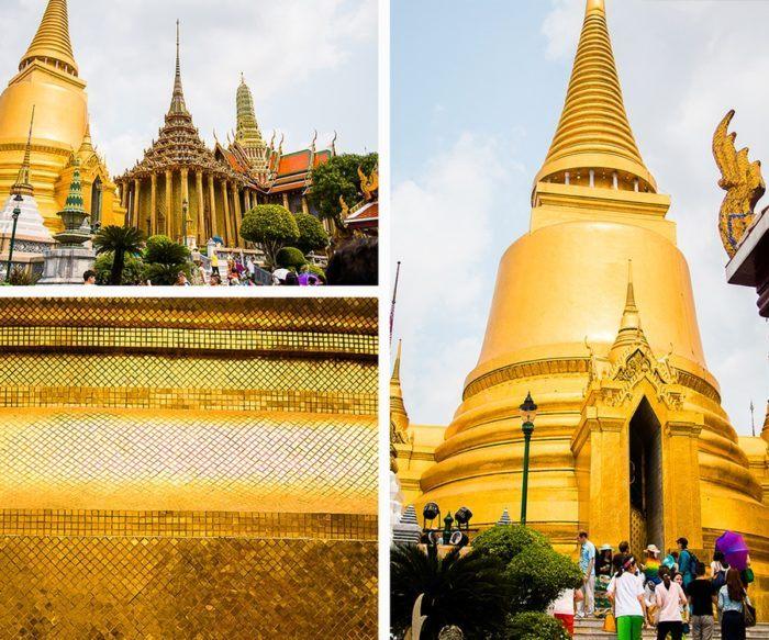 La Phra Sri-Ratana Chedi de Bangkok