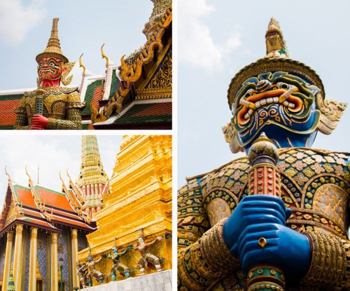 Les Yaksha de Bangkok