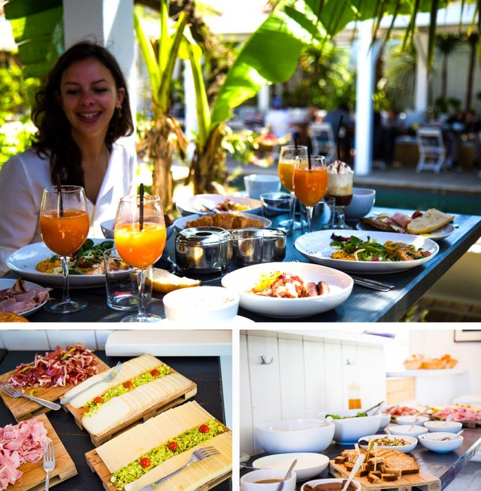 Le brunch de la Beach House