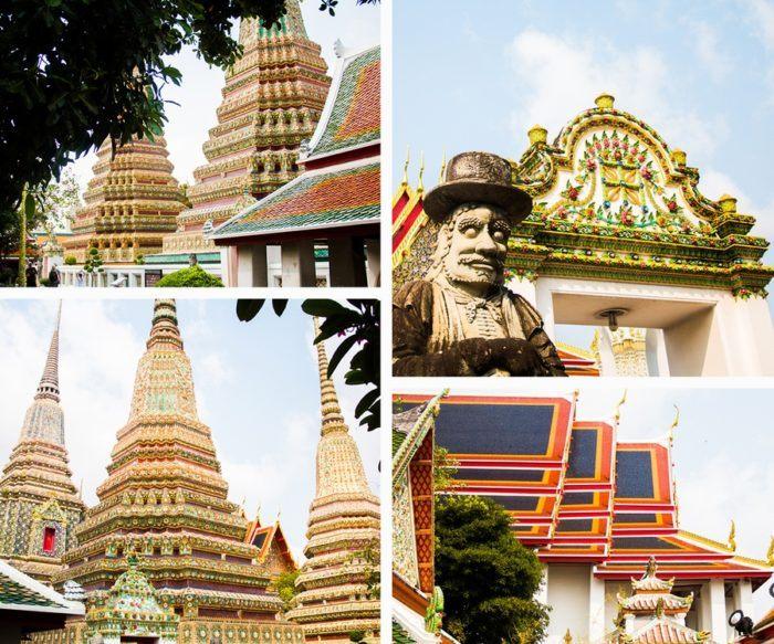 Visite à l'intérieur du temple Wat Pho
