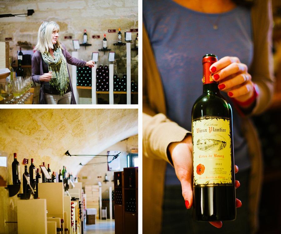 La maison des vins de côtes de Bourg
