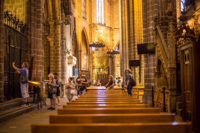 cathedrale saint croix barcelone