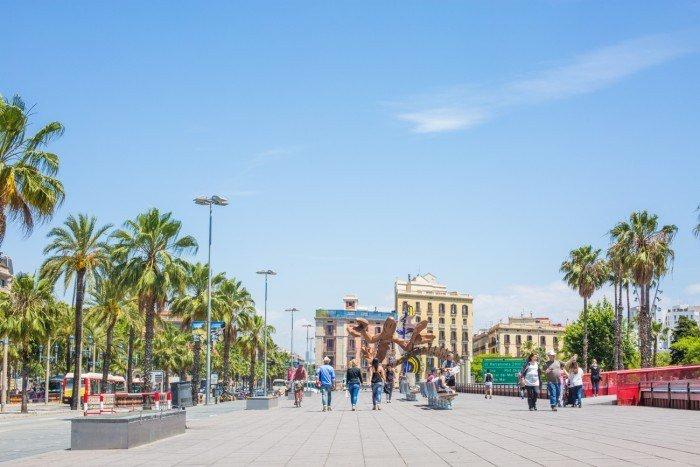 Barcelone barceloneta