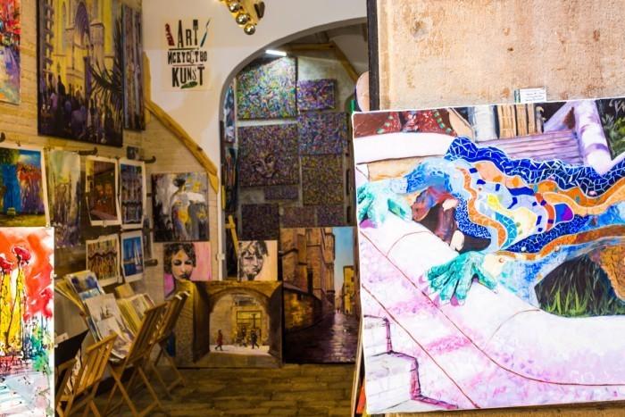 galerie art barcelone