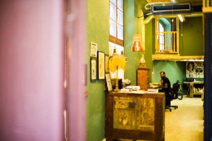 atelier artiste barcelone