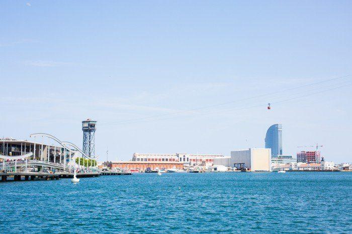 Le vieux port de Barcelone