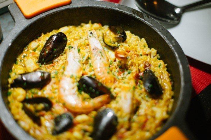 Une bonne paella chez Arume à Barcelone
