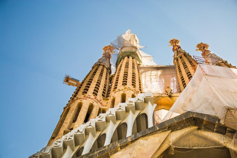 La Sagrada Familia de Gaudi à Barcelone