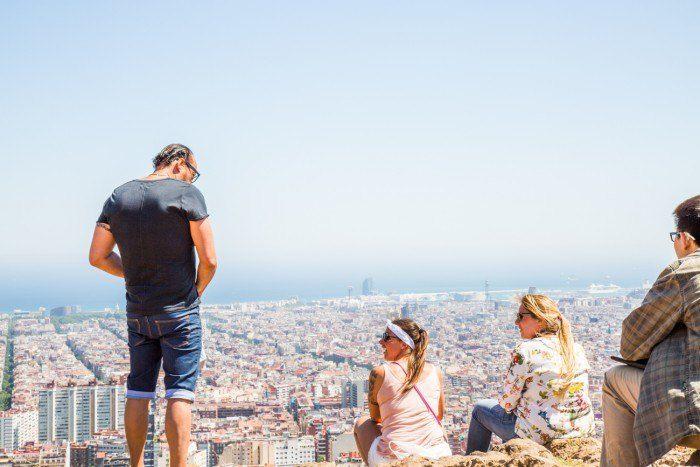 paysage barcelone