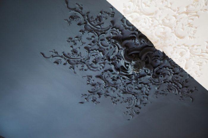le style baroque au plafond