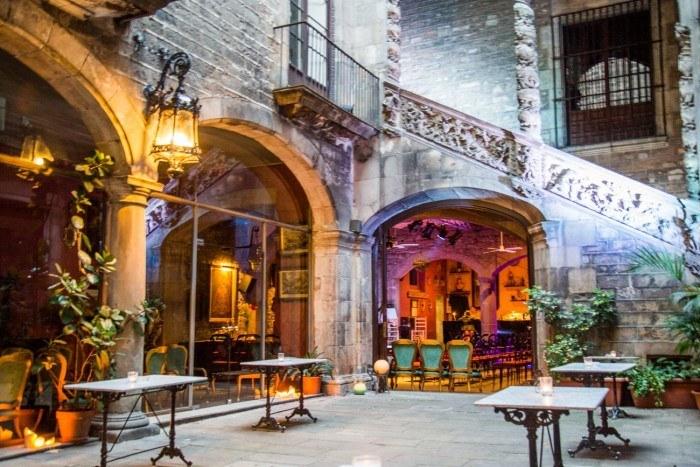 flamenco barcelone Palau Dalmases