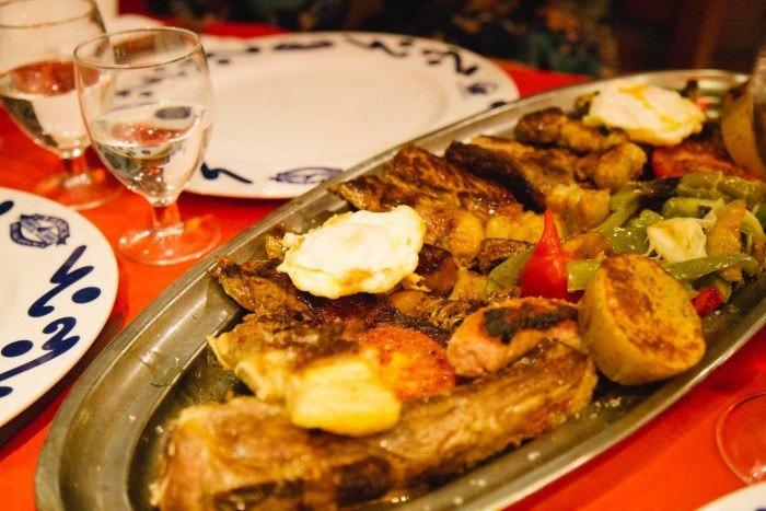 Une bonne côte de boeuf au restaurant Salamanca