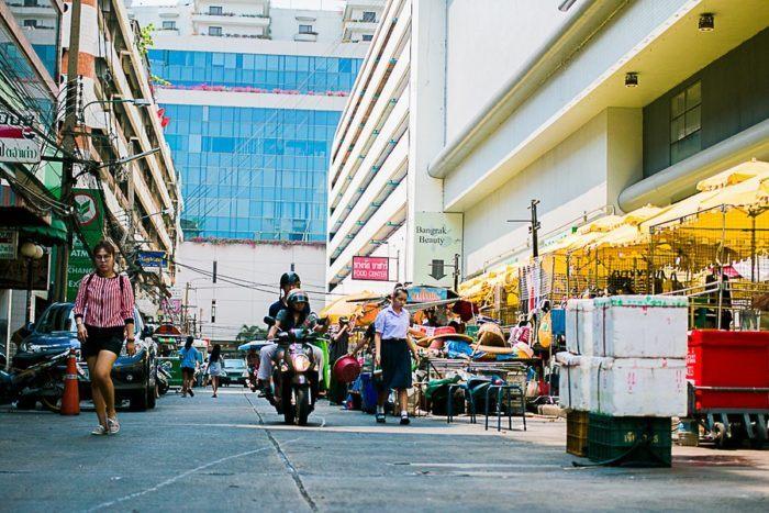 Le quartier chinois de Bangkok