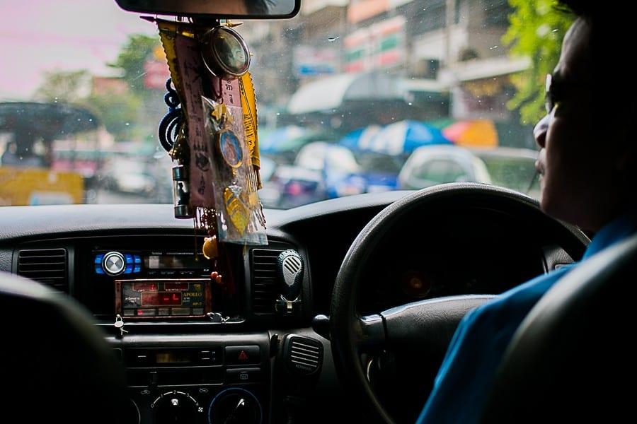 Un taxi à Bangkok