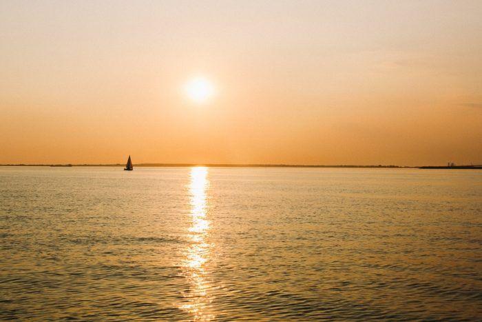 Le coucher de soleil avec Kapalouest
