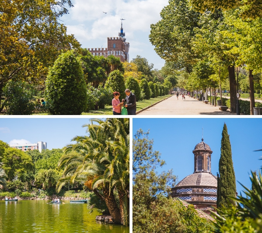 parc ciutadella barcelone
