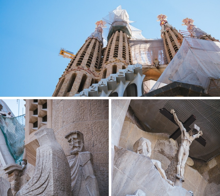 exterieur sagrada familia barcelone