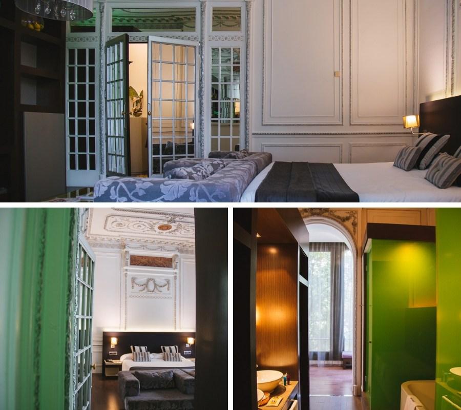 intérieur 987 barcelona hotel barcelone