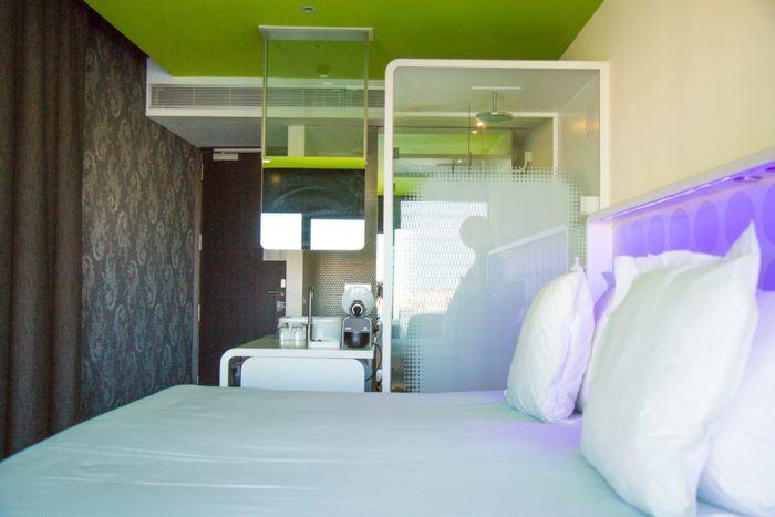 Vue chambre Barcelo Raval