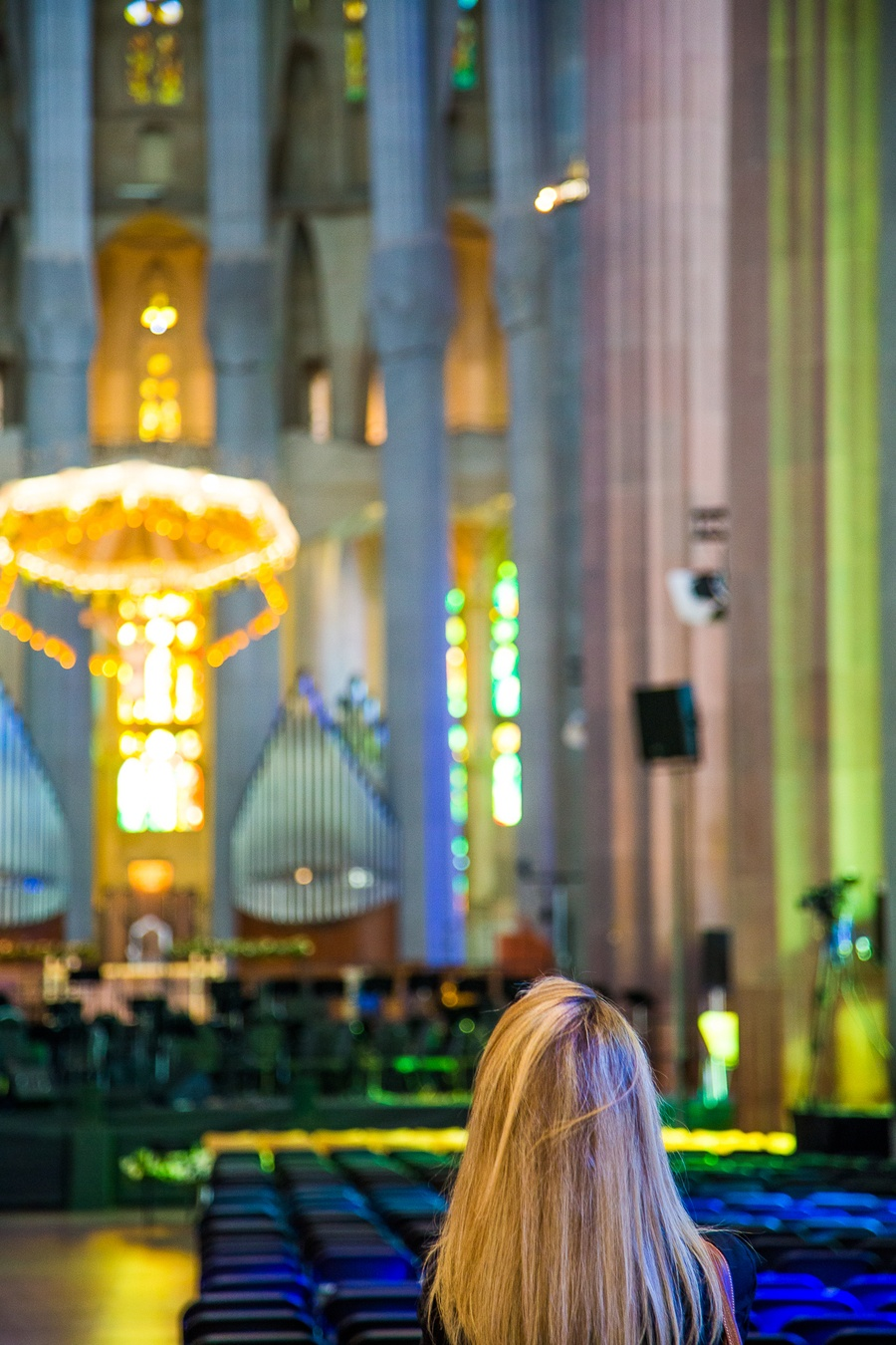 L'impressionnante Sagrada Familia à Barcelone