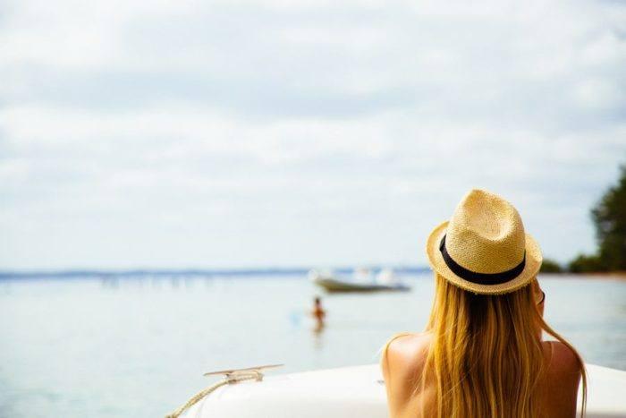 regards sur le lac de biscarrosse