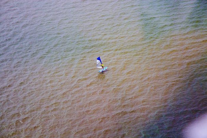 planche à voile lac de biscarrosse