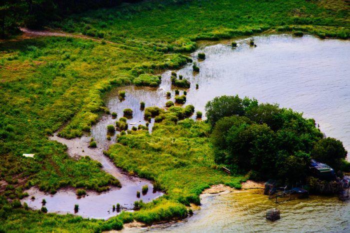 Vue sur le lac de latécoère