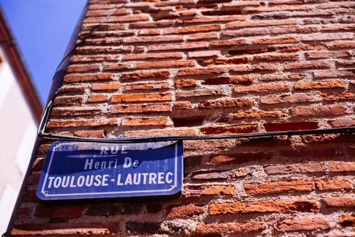 Rue toulouse lautrec albi