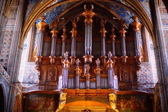 l'Orgue de la Cathédrale d'Albi