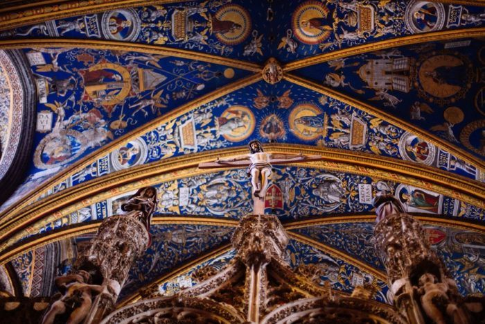 Le plafond de la Cathédrale d'Albi