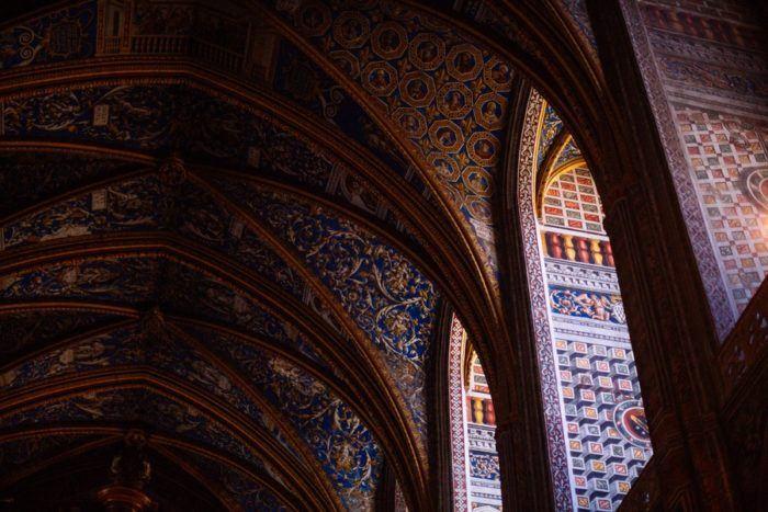 L'interieur de la Cathédrale Sainte Cécile à Albi