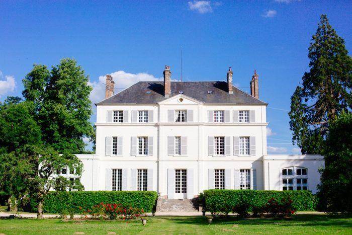 le chateau du bois de la lune en Normandie