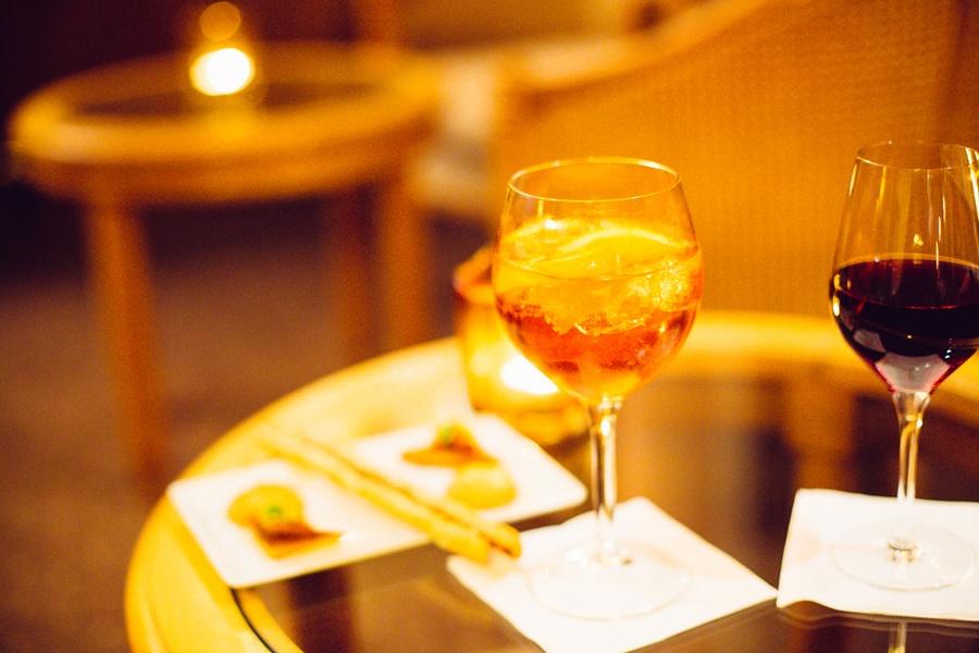 Un Aperol Spritz au champagne !
