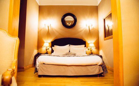 La chambre au Moulin de Connelles