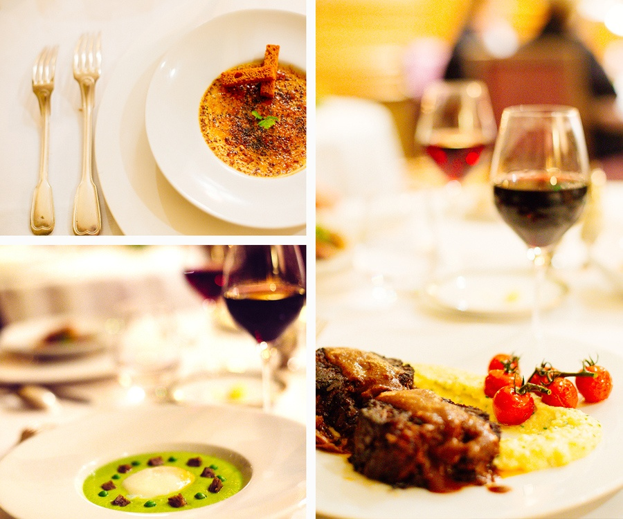 La cuisine délicieuse du restaurant - Moulin de Connelles