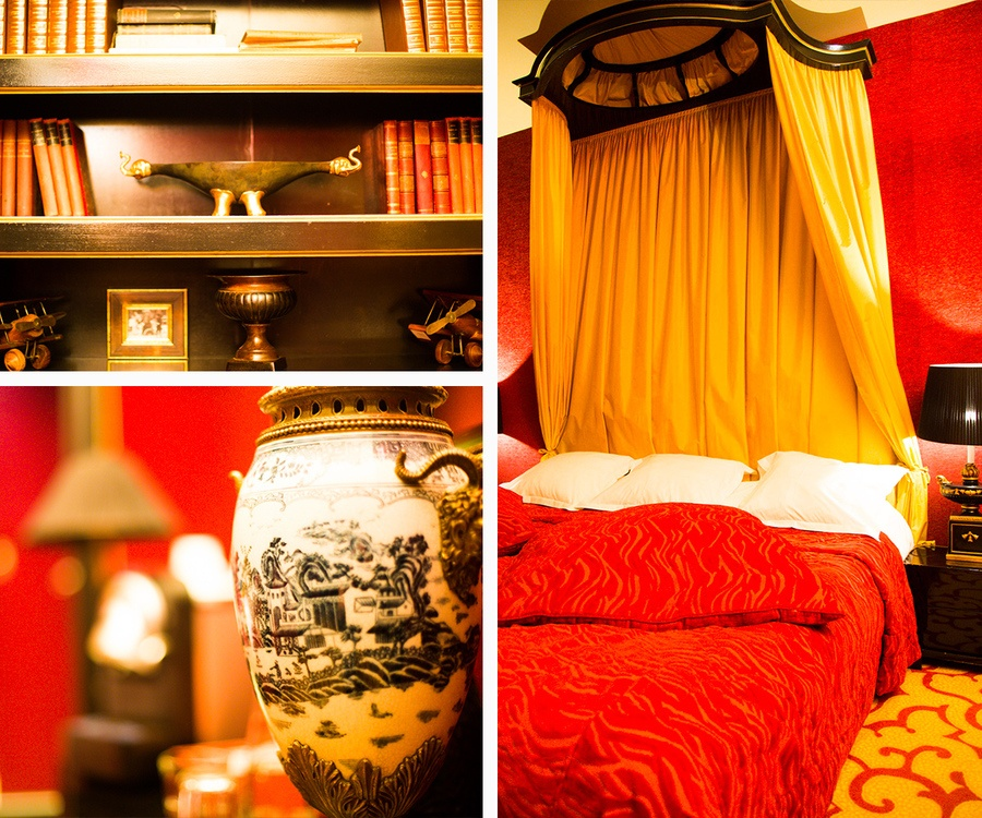 Une chambre au Domaine Saint Clair