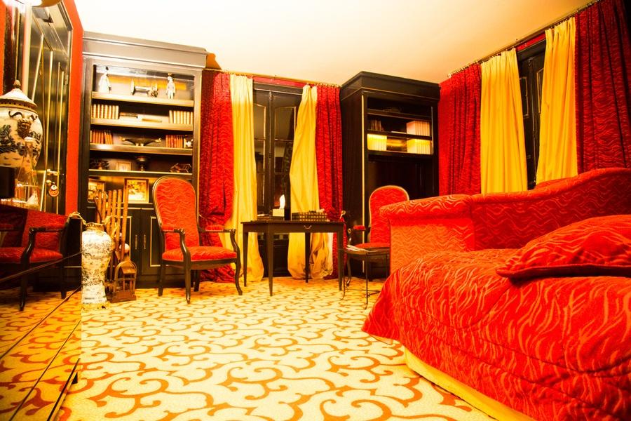 Chambre hôtel Domaine Saint Clair