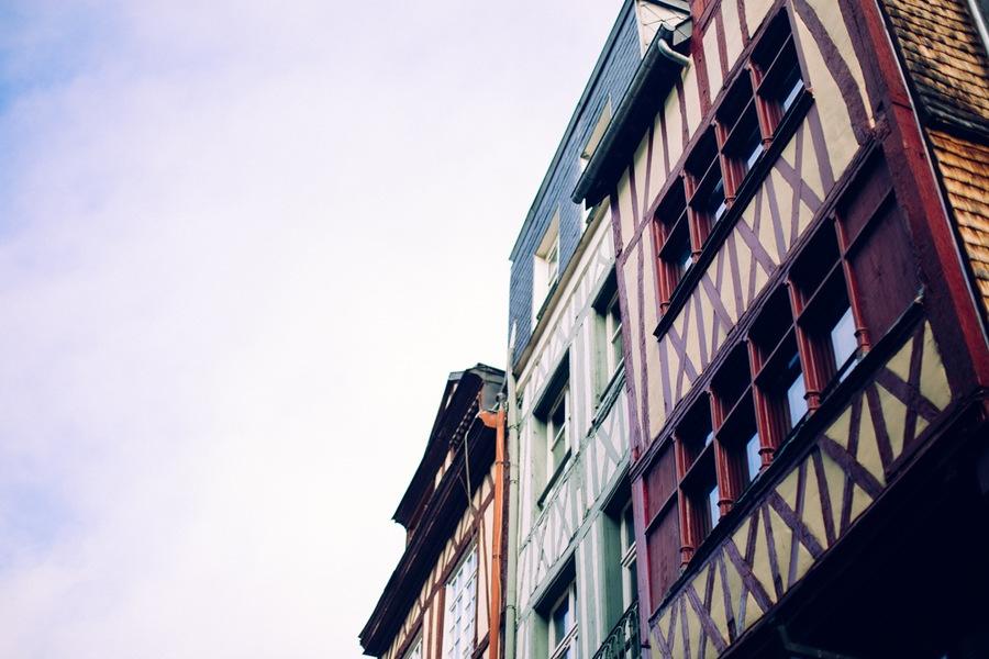 Rouen et ses jolies maisons à colombage
