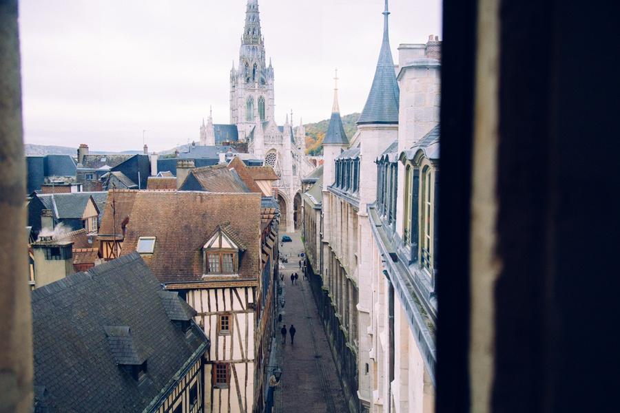 Panorama sur Rouen