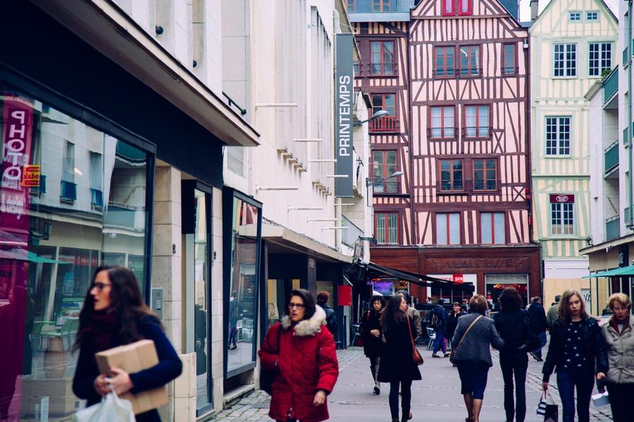 boutiques rue du Gros Horloge