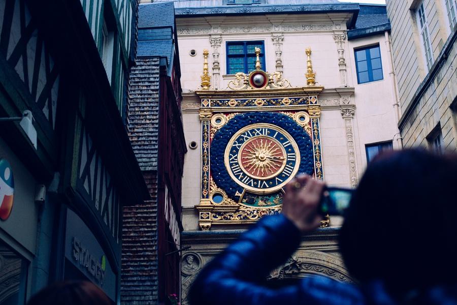 Photographie du Gros Horloge
