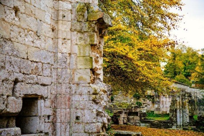 Les pierres de l'Abbaye