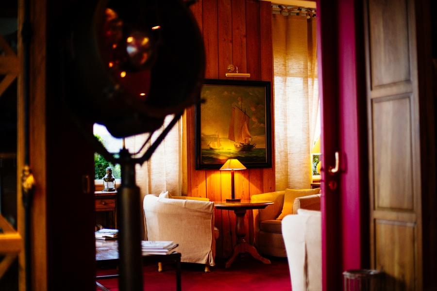 Le salon de l'hôtel Vent d'Ouest au Havre