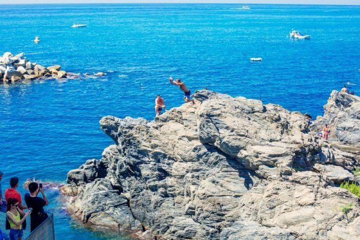 Plongeon Cinque Terre