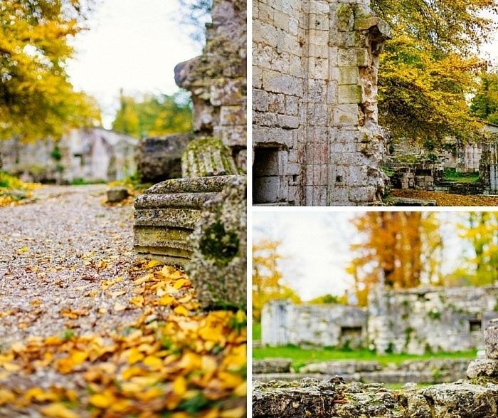 Les ruines de l'Abbaye de Jumièges