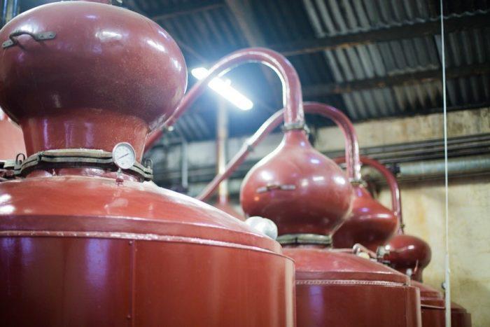 alambics de la distillerie busnel
