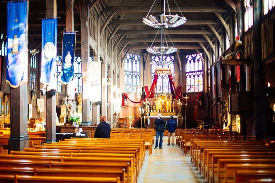 Une église en bois à Honfleur